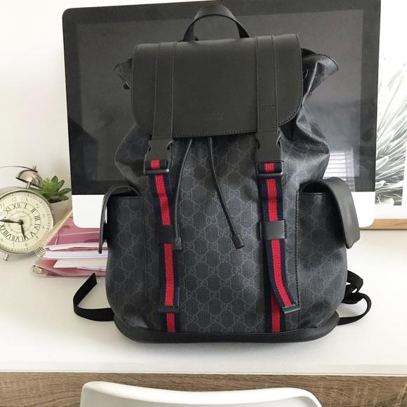 93d75ab8e Gucci Bags | Gg Supreme Backpack | Poshmark